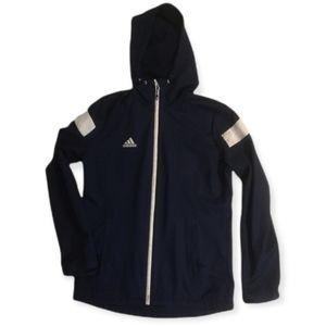 Adidas Climaproof Windbreaker Men's Navy Size S